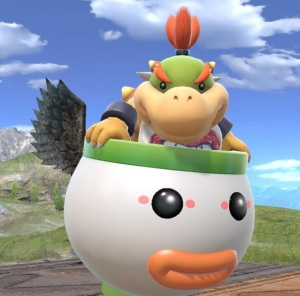 Bowser Jr super Smash Bros ultimate Nintendo Switch