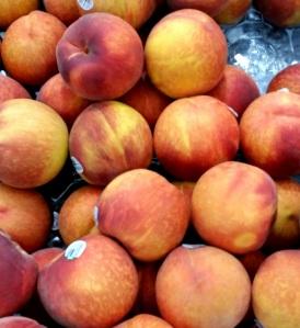 Peaches from Georgia usa