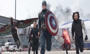 Captain America: Civil War Team Cap airport battle