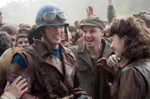 Captain America the first Avenger Steve Rogers first mission world War 2 Chris Evans