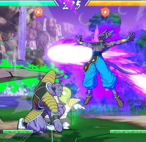 Captain Ginyu vs lord beerus dragon Ball FighterZ Nintendo Switch Xbox One PS4