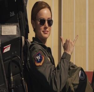 Captain Marvel 2019 Carol Danvers air force pilot