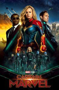 Captain Marvel movie poster brie Larson