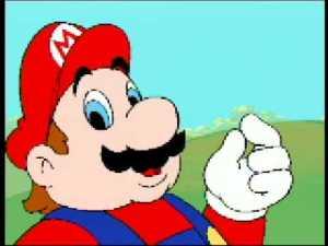 Hotel Mario cut-scenes