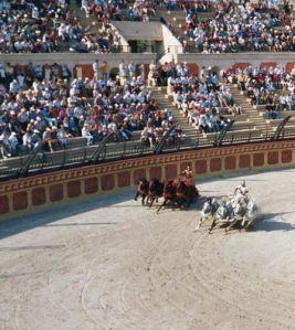 Chariot racing fun facts