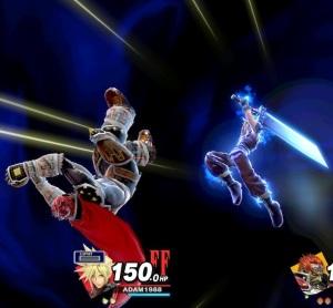 Final Smash Cloud super Smash Bros ultimate Nintendo Switch SquareEnix final fantasy vii