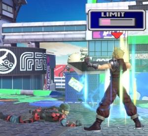 Cloud vs solid snake super Smash Bros ultimate Nintendo Switch SquareEnix final fantasy vii