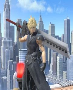 Cloud super Smash Bros ultimate Nintendo Switch SquareEnix final fantasy vii