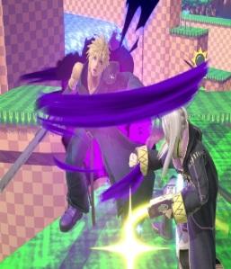 Cloud vs Robin super Smash Bros ultimate Nintendo Switch SquareEnix final fantasy vii