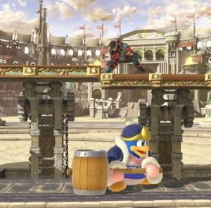 King dedede vs solid snake Coliseum Stage super Smash Bros ultimate Nintendo Switch fire Emblem