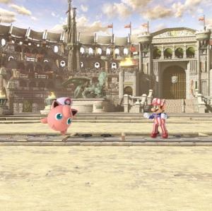 Coliseum Stage super Smash Bros ultimate Nintendo Switch fire Emblem