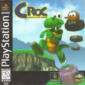 Croc: Legend of the Gobbos PS1 boxart