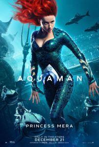 Aquaman princess meera movie poster amber heard