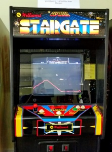 Defender: Stargate arcade machine