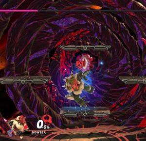 Boss battle Dharkon world of Light super Smash Bros ultimate Nintendo Switch