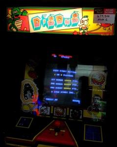 Dig Dug Atari Namco arcade machine