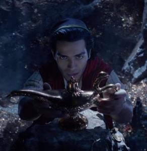 Aladdin 2019 remake Aladdin finds the magic lamp