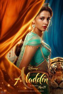 Aladdin remake movie poster princess Jasmine variation