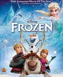 Frozen dvd cover