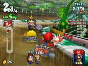 Mario vs Pac-Man Mario Kart Arcade GP Namco Nintendo