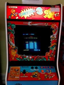 Donkey Kong 3 Nintendo arcade machine