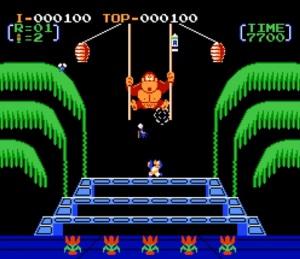 Donkey Kong 3 NES version Nintendo