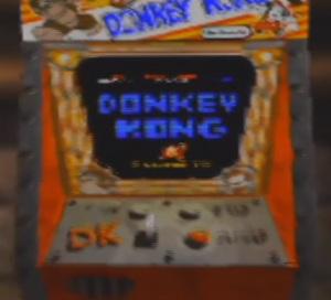 Donkey Kong Arcade machine hidden donkey Kong 64 N64