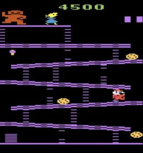 Donkey Kong Atari 2600 version Nintendo