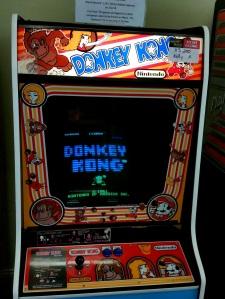 Donkey Kong Arcade machine Nintendo