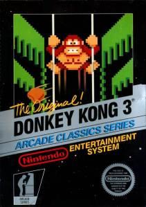 Donkey Kong 3 NES Nintendo boxart