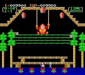 Donkey Kong 3 NES Nintendo version