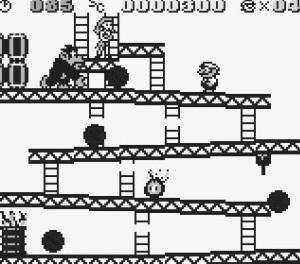 First dk level Donkey Kong 94 Game Boy Nintendo