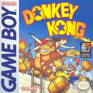 Donkey Kong 94 Game Boy Nintendo boxart