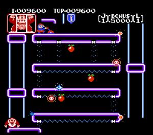2nd level Donkey Kong Jr. NES Nintendo