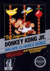 Donkey Kong Jr. NES Nintendo boxart