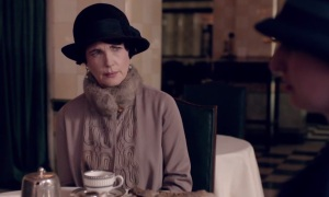 Downton Abbey Cora Crawley tea party