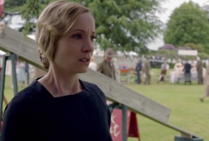Downton Abbey Anna Bates crying about Mr. Green
