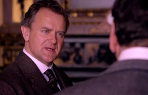 Downton Abbey Robert crawley finds out about the titanic sinking