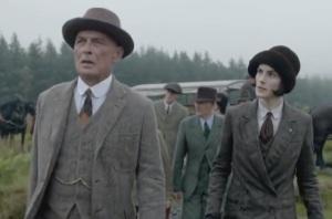 Downton Abbey Lady Mary Crawley hunting clothes