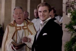 Downton Abbey Matthew Crawley wedding to Lady Mary