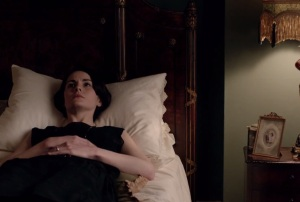 Downton Abbey Lady Mary Crawley in mourning