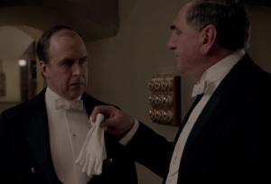 Downton Abbey mr moseley as a footman