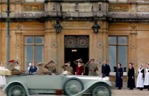 Downton Abbey world War I