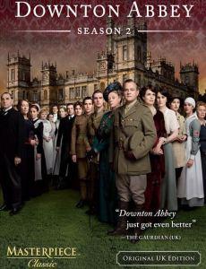 Downton Abbey season 2 poster