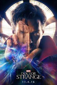 Doctor Strange movie poster Benedict Cumberbatch