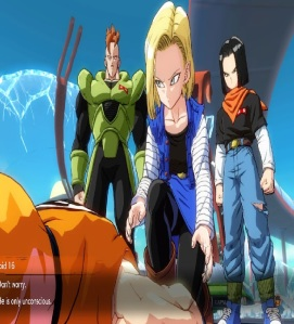 Android 18 finds Krillin hurt dragon Ball FighterZ Nintendo Switch Xbox One PS4