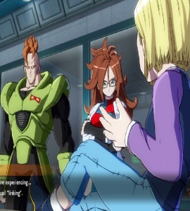 Android 21 and Android 16 find Android 18 dragon Ball FighterZ Nintendo Switch Xbox One PS4