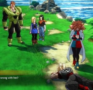 Android 21 Android 16 Android 17 Android 18 dead Goku clone dragon Ball FighterZ Nintendo Switch Xbox One PS4