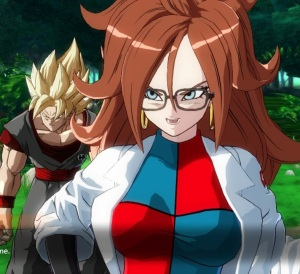 Android 21 dragon Ball FighterZ Nintendo Switch Xbox One PS4