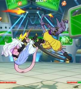 Lord Beerus vs Android 21 Dragon Ball FighterZ Nintendo Switch Xbox One PS4
